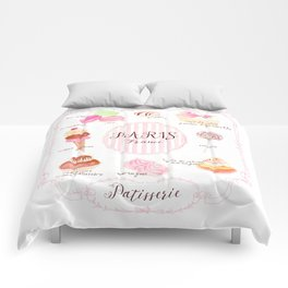 Paris Patisserie Comforters