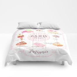 Paris Patisserie Comforters