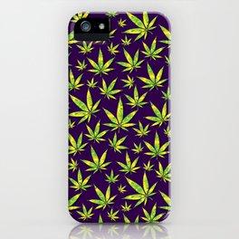 OG Kush Pattern iPhone Case