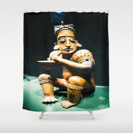Museum Alive Shower Curtain