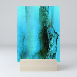 Abstract Agate Mini Art Print