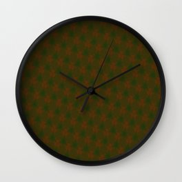 Misty Merry Trees Wall Clock