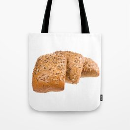 baked graham bread rolls Tote Bag
