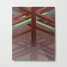 Pergola^2 Metal Print
