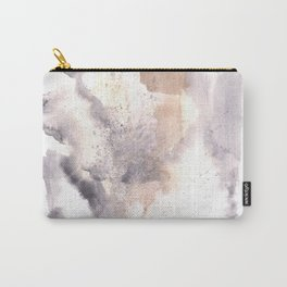 Watercolor Texture Movement | [Grief] Haze Carry-All Pouch