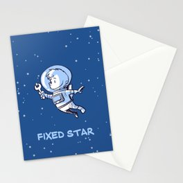 Little Astronaut - Fixed Star Stationery Cards
