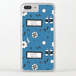 Field Notes & Compass Clear iPhone Case