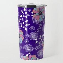 Violet Garden Travel Mug