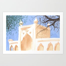Brand Art Library Art Print