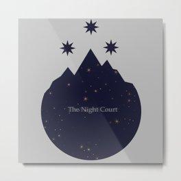 The Night Court Metal Print
