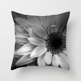 Infrared Daisy Throw Pillow