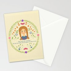 Dear World Stationery Cards