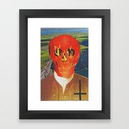 Demon Vacation  Framed Art Print