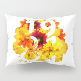 Flower 1981 Pillow Sham