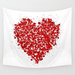 big heart 01 Wall Tapestry