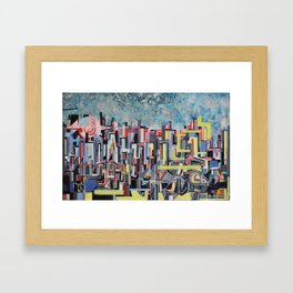 """metropolis Framed Art Print"