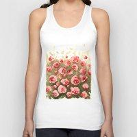 gradient Tank Tops featuring Flowery gradient by Ivanushka Tzepesh