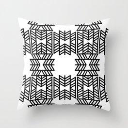 Z Pattern Throw Pillow
