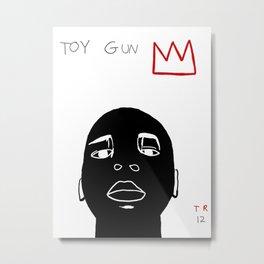 Tamir Rice Toy Gun Metal Print