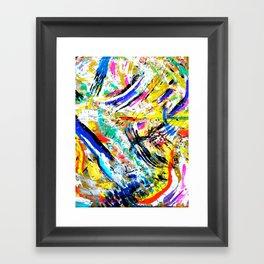 re: stacks // Bon Iver Framed Art Print