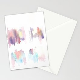 150528 Watercolour Shadows Abstract 136 Stationery Cards