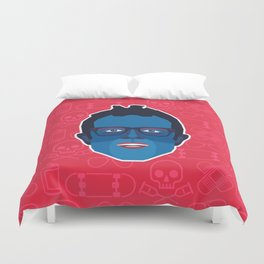 Johnny Knoxville - Jackass Duvet Cover