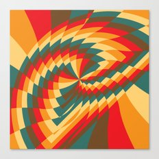 Half Circle (Available in the Society 6 Shop!) Canvas Print
