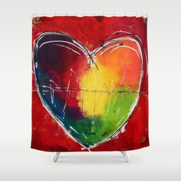 Mother love Shower Curtain