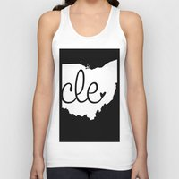 cleveland Tank Tops featuring Love Cleveland by anastasia5