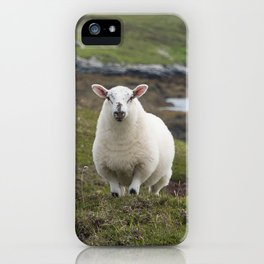 The prettiest sheep iPhone Case