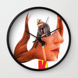 Er oder Sie hat ´nen Vogel Wall Clock