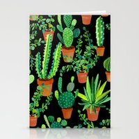 cacti Stationery Cards featuring Cacti by Sian Keegan
