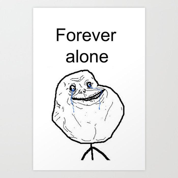 Image result for Forever Alone