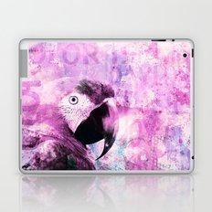 Crazy Parrot Laptop & iPad Skin