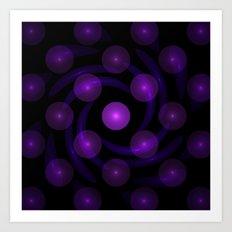Light Balls Art Print