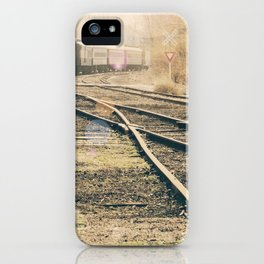Railroad Crossing iPhone Case