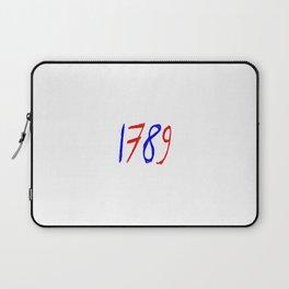 1789 chalk version Laptop Sleeve