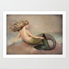 Her Ocean Art Print
