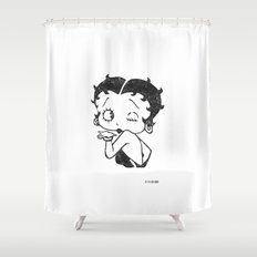 Betty Boop Shower Curtain