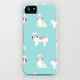 Havanese dog breed gifts for dog lover pure breed must haves iPhone Case