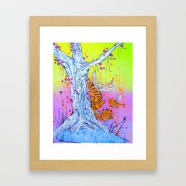 The Forest of Flying Tigers Framed Art Print