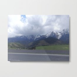 Trip to the mountains Metal Print