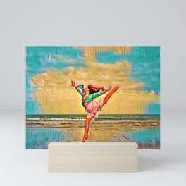 Seaside Freedom | Rockaway Beach, Oregon Mini Art Print