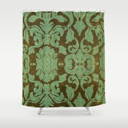 vintage tissue paper  Shower Curtain
