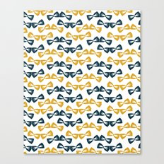 Zany Du Bow Tie Pattern Canvas Print