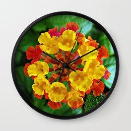 Manda la flor Wall Clock