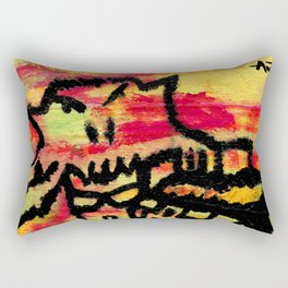 Ghost painting Rectangular Pillow