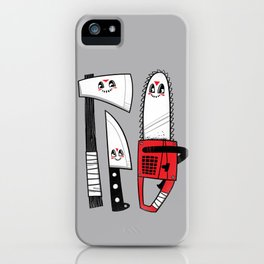 Happy Slasher Pals iPhone Case