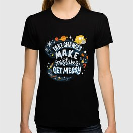 Magic Schoolbus Educational Quote T-shirt