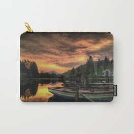 Spring Sunset On Loch Ard Carry-All Pouch